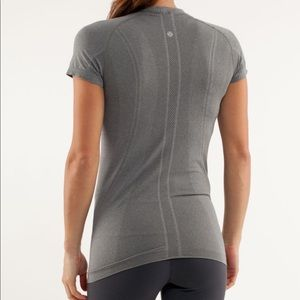 Lululemon Run swiftly tech grey size 12